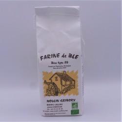 Farine blanche semi-complète