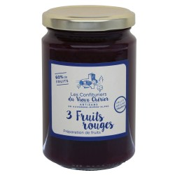 3 fruits rouges