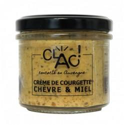 Crème de courgette chèvre...