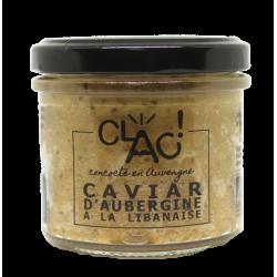 Caviar d'aubergine à la...