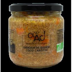 Douceur de quinoa coco carotte